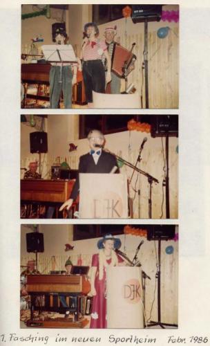 Fasching 1986