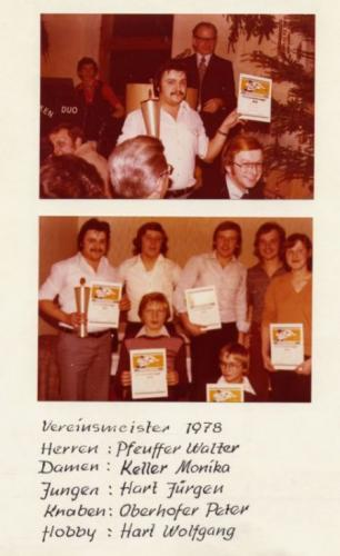 Tischtennis 1978