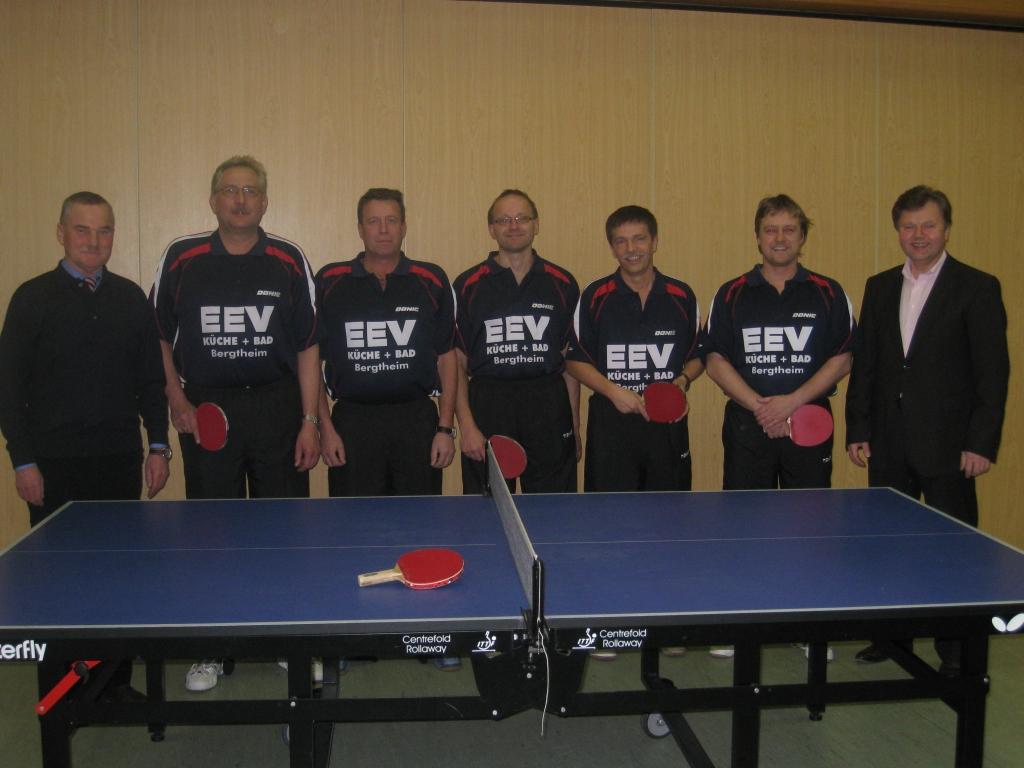 TT Herren I mit Sponsor Firma EEV GmbH   Küche + Bad , Bergtheim
